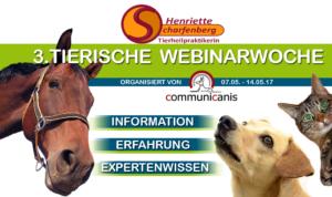3. Tierische Webinarwoche vom 7.-14. Mai